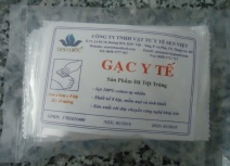 5 x 6cm medical gauze